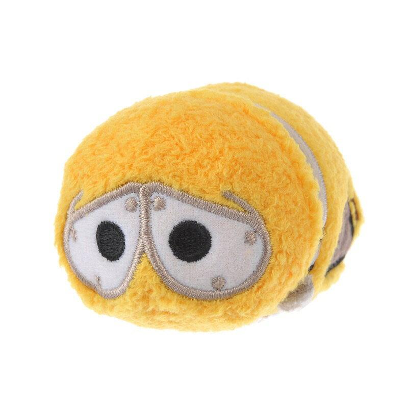 【真愛日本】 4936313840988 tsum娃-瓦力-機器人WALL· E+BAM 迪士尼娃娃玩偶疊疊樂螢幕擦