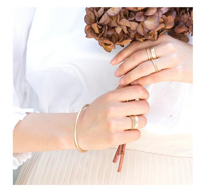 日本CREAM DOT  /  バングル ヴィンテージ メタル レディース ゴールド 金 シルバー 銀 シンプル 上品 ブランド アクセサリー プレゼント 大人 レディース 女性 大人 ジュエリー  /  qc0324  /  日本必買 日本樂天直送(1490) 7