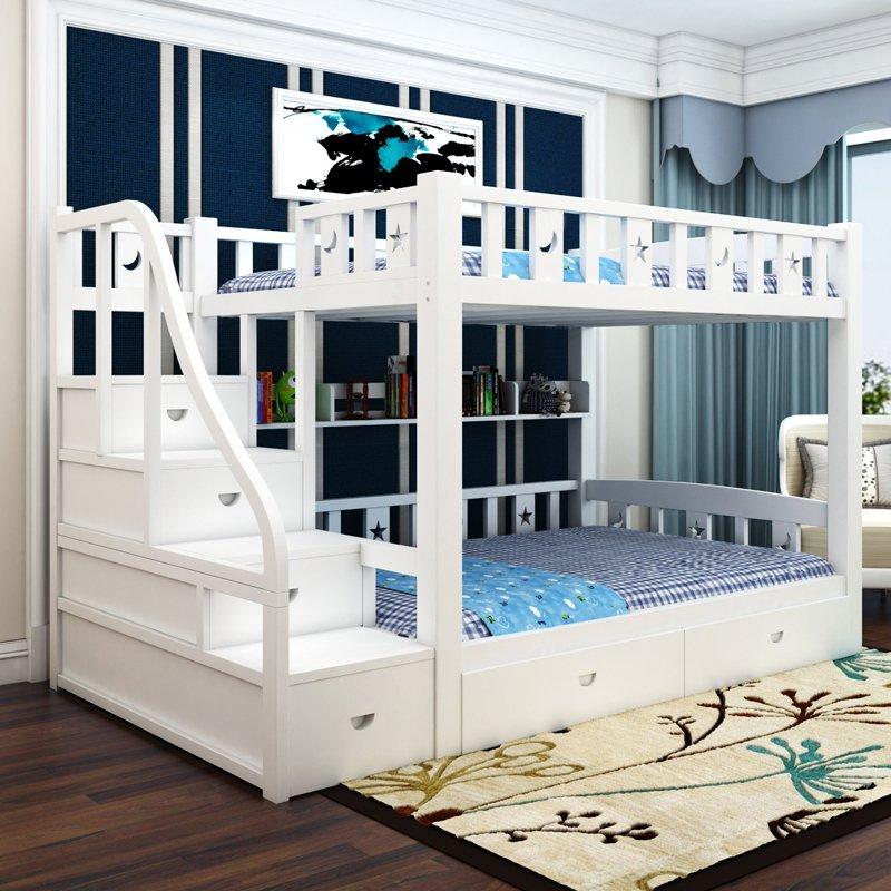 雙層床 兒童床 子母床 上下舖 加大尺寸【A-4】綠巨人家具