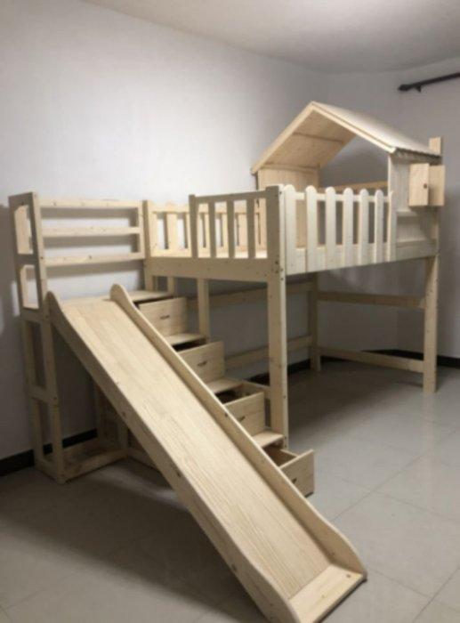 綠巨人家具網*全實木兒童床,樂天雙11