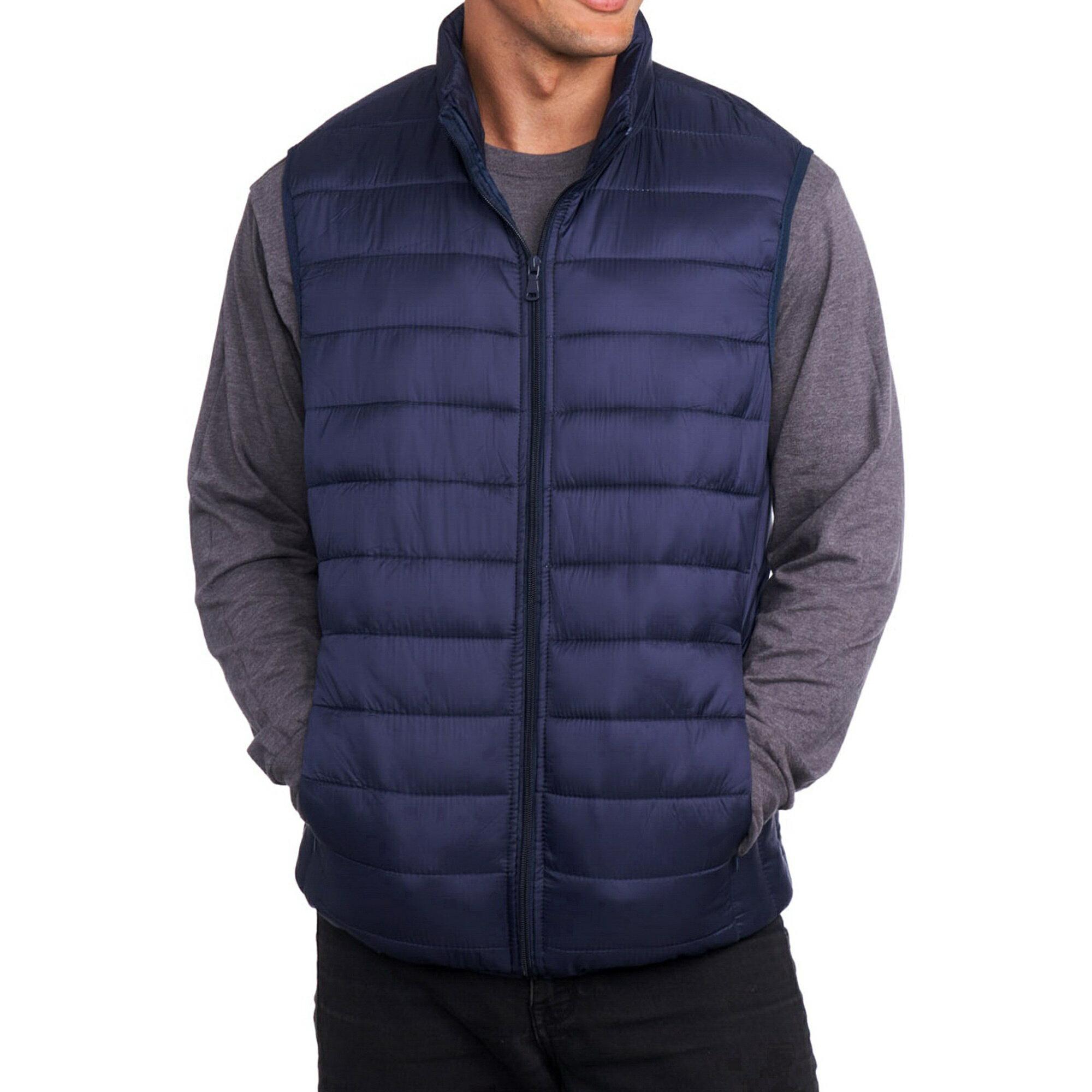 22262459ece Alpine Swiss Mens Down Alternative Vest Jacket Lightweight Packable Puffer  Vest 0