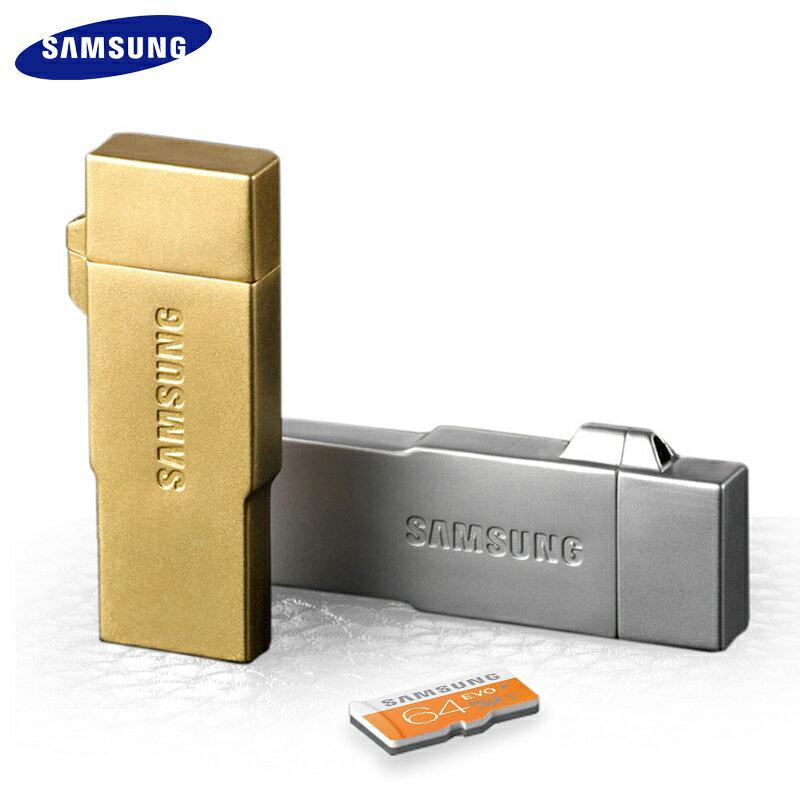 SAMSUNG OTG 64G 隨身碟/附 Micro SD 卡/手機/電腦/平板/ASUS ZenFone6 A600CG/ZenFoneC ZC451CG/ZenFone5 LTE A500KL/ASUS ZenFone2 Deluxe/ZE551ML/ZE550ML/ZE500CL/ZenFone5 A500CG/PadFoneS PF500KL/LG G4/G3/G2 D802/G Pro 2 D838/G Flex2/LG Spirit/Wine Smart/AKA