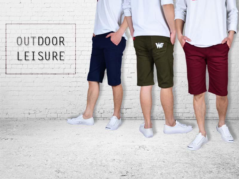 夏季棉短褲
