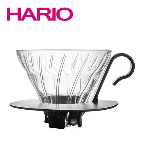 HARIO~V60好握把玻璃濾杯2人份 ( VDGN-01B)