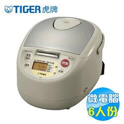 虎牌 Tiger 微電腦電子鍋 6人份 JBA-T10R【雅光電器】