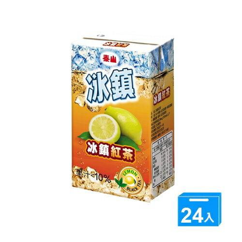 泰山冰鎮紅茶TP250ml*24【愛買】