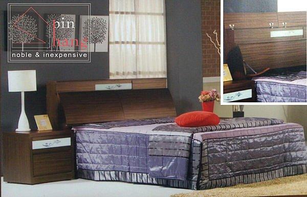 【尚品傢俱】711-19 塔莉莎 5尺胡桃床頭箱~另有6尺~另有雪山白/床頭收納箱/床頭儲藏箱/床頭置物箱