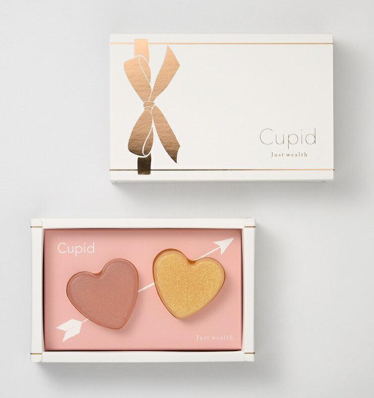 <br/><br/>  Cupid Gift Set 邱比特蝸牛液手工美容皂愛心小禮盒(粉金)組 30g x 2<br/><br/>