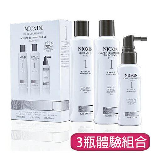 NIOXIN 儷康絲(耐奧森) 豐髮體驗系列  1號豐髮體驗組