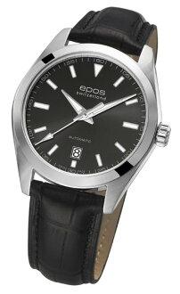 epos 愛寶時 3411.131.20.14.25FB 摩登時尚機械腕錶/黑面39mm