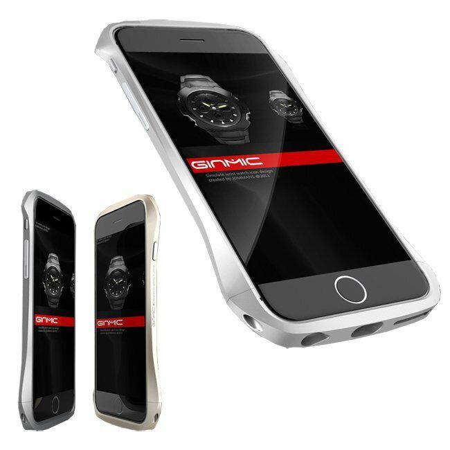 GINMIC 陽極航空鋁保護邊框/iPhone 6 Plus 5.5/手機殼/手機邊框/保護殼/手機背蓋【馬尼行動通訊】