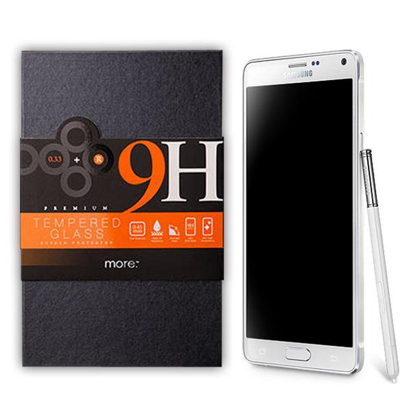 more.Samsung NOTE4 0.33-9H鋼化玻璃保護貼 Samsung NOTE4【馬尼行動通訊】