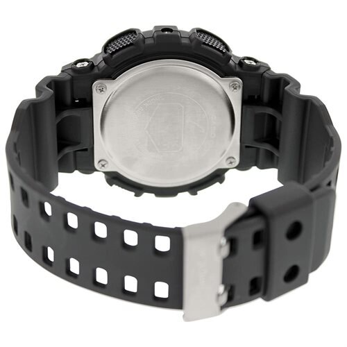 Casio G-Shock GD100-1B Chrono Quartz Resin Men's Watch 3