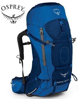 Osprey 後背包/登山背包/背包客/背包/健行 Aether AG 60 蒼穹60升登山背包 海星藍