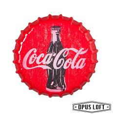 LOFT工業風 仿舊啤酒瓶蓋壁飾・可口可樂・
