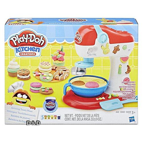《Play-Doh培樂多》培樂多廚房系列-轉轉蛋糕遊戲組
