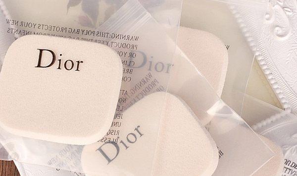 leleshop-Dior 凝脂效果乾濕兩用粉餅專用粉撲.2入裝/特價.