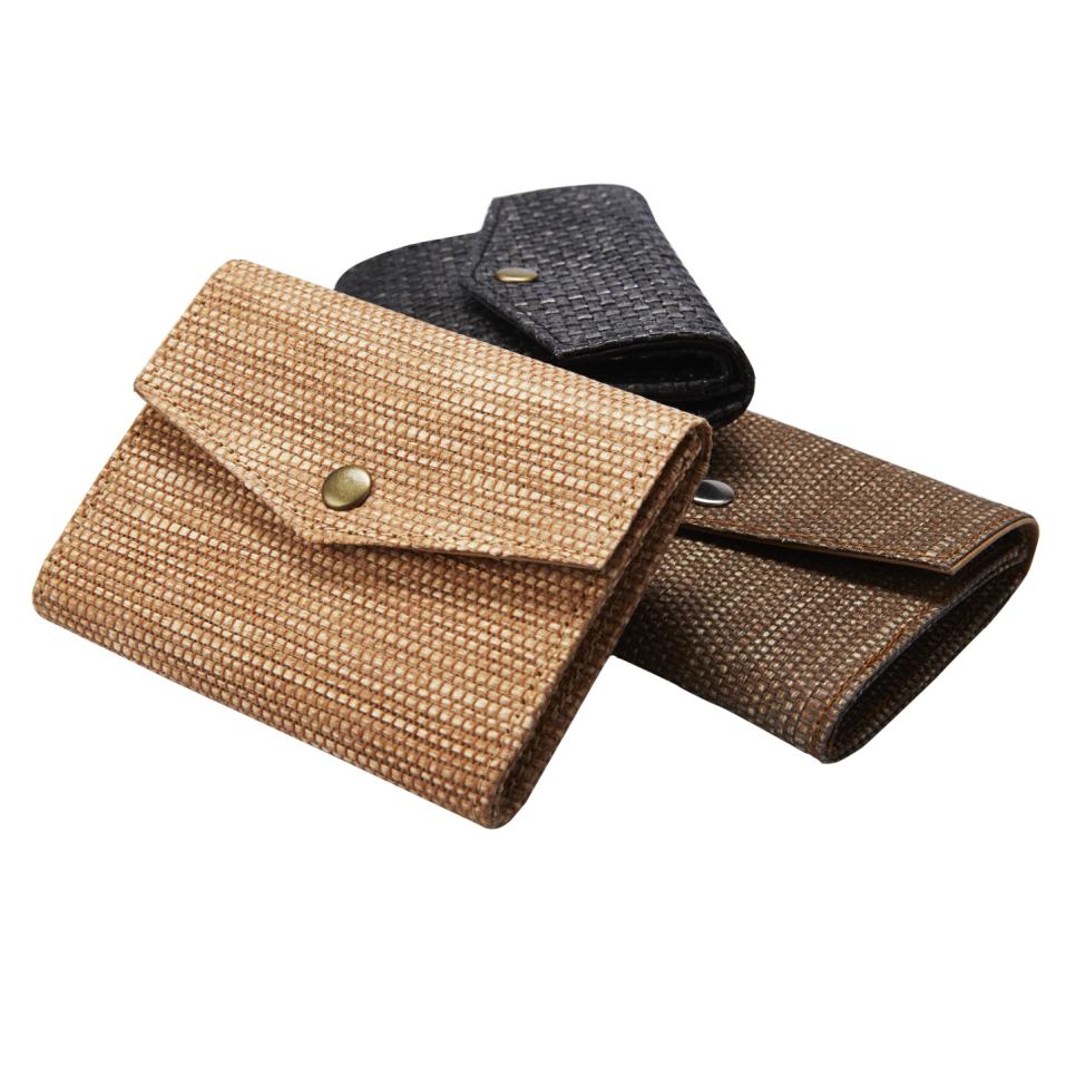 紙纖零錢包‧時尚手工紙包/零錢包/環保包
