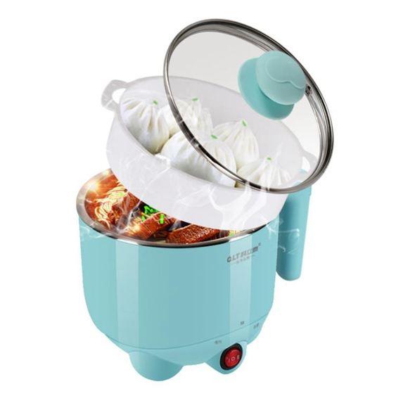 QLT/科立泰電熱鍋電煮鍋迷你1-2人宿舍煮面泡面鍋小電鍋火鍋家用220VATF