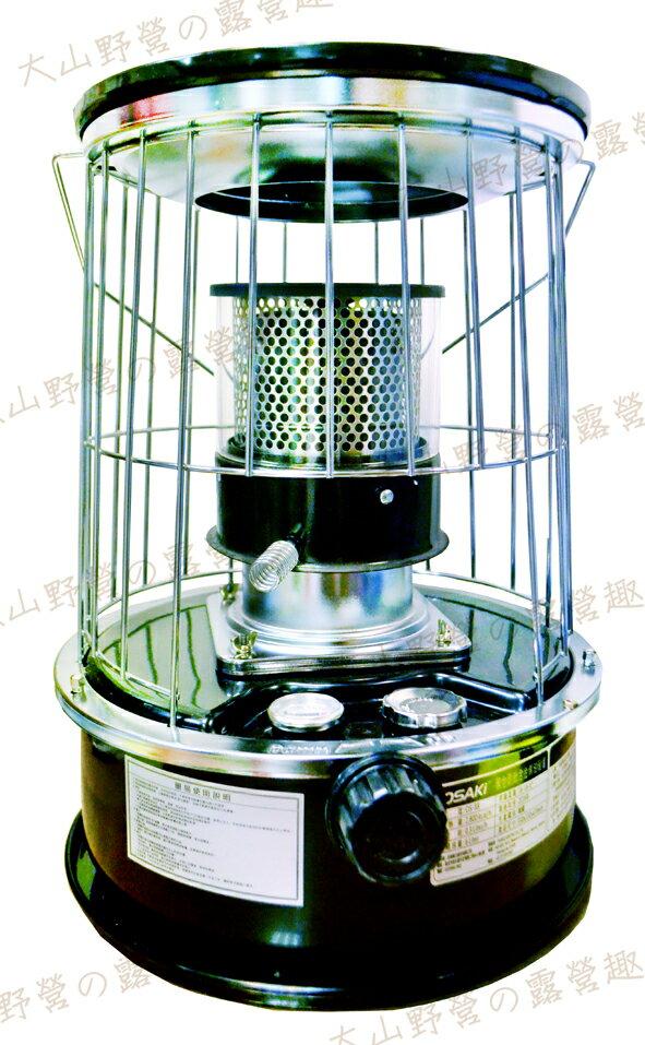 【露營趣】中和 韓國 OS-88 第二代黑金剛鈦合金煤油暖爐 煤油爐 取暖爐 取暖器