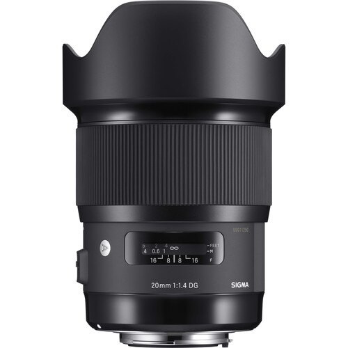 Sigma 20mm f/1.4 Art DG HSM Lens (for Canon EOS Cameras)