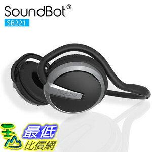 [106美國直購] 無線藍牙耳機 SoundBo SB221 HD 4.0 Headset Sports-Active Headphone 20Hrs Music Streaming 25Hrs
