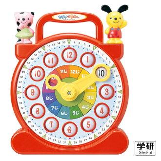 Gakken學研益智積木 - 快樂學習鐘