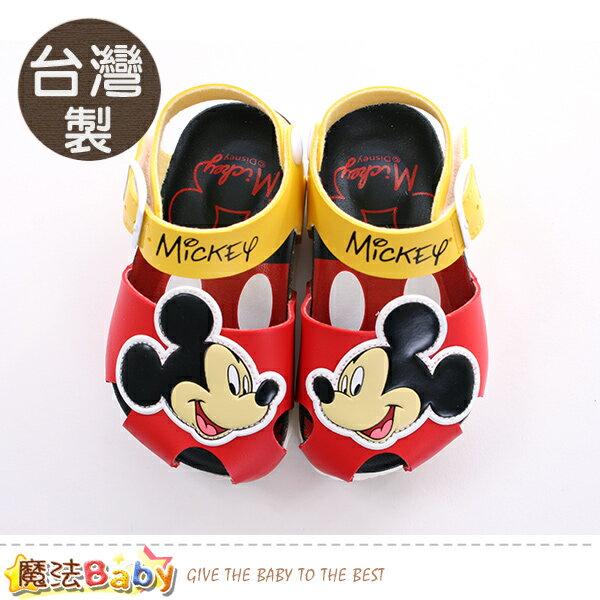童鞋台灣製迪士尼米奇正版兒童涼鞋魔法Baby~sk0415