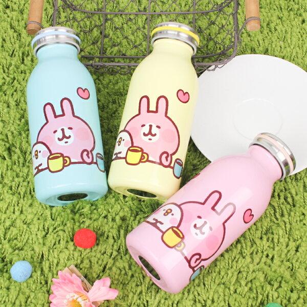 PGS7卡娜赫拉系列商品-卡娜赫拉Kanahei保溫保冷牛奶罐保溫瓶瓶子水瓶水壺兔兔P助【SF2E80093】