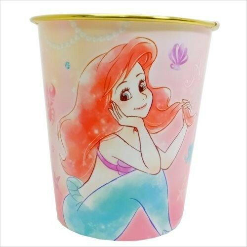 X射線【C066889】小美人魚Ariel圓桶-城堡,垃圾筒雜物桶水桶分類桶資源回收桶廚餘桶