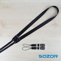 微單相機背帶肩帶 窄款小卡片機 尼康A900掛繩 織帶柔軟不勒脖子   電購3C