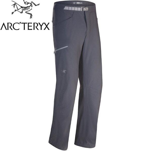 Arcteryx始祖鳥攀岩褲登山褲排汗褲彈性快乾休閒褲PsiphonSL男款15533機長灰