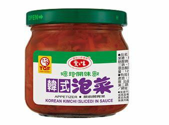 愛之味韓式泡菜190g*12罐 【合迷雅好物商城】
