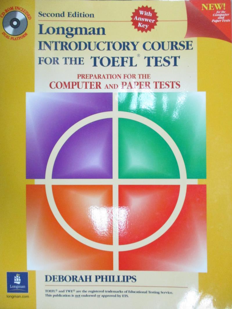 【書寶 書T6/語言學習_QON】Longman Introductory Course for the Toefl