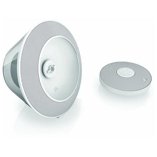 JBL Voyager Portable Bluetooth Speaker (White) 1
