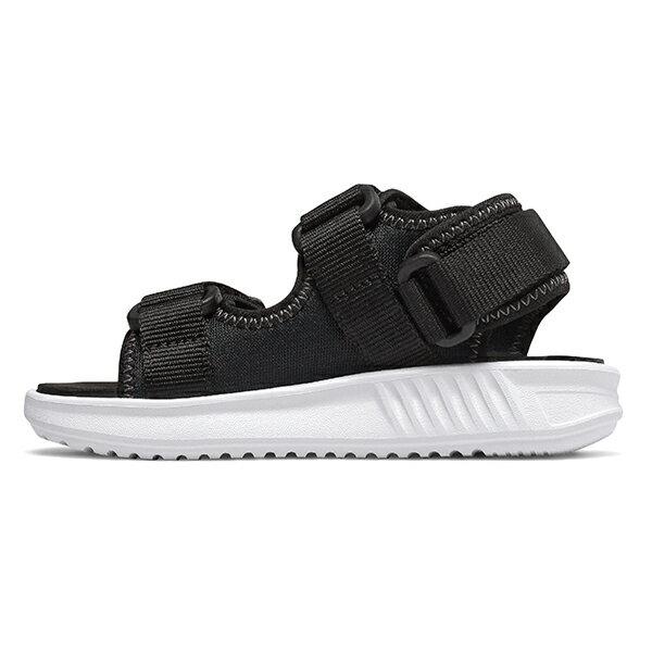 Shoestw【IH750BK】NEW BALANCE NB750 涼鞋 涼拖鞋 運動涼鞋 童鞋 小童鞋 黏帶 黑白 3