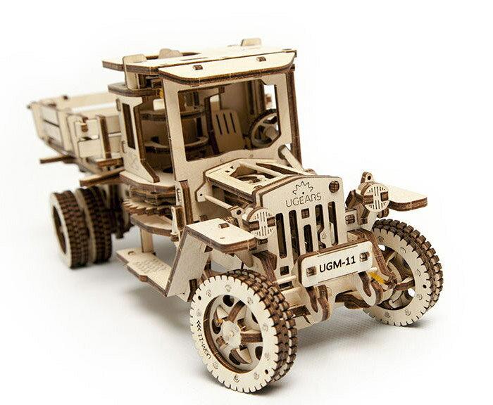 Ugears 自我推進模型 (Truck UGM-11 四輪驅動卡車) 3