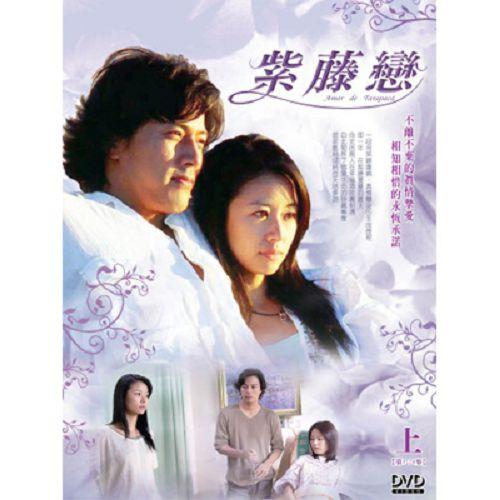 【超取299免運】紫藤戀DVD (第1-24集/笫一部/3片裝) 韓在石/林心如