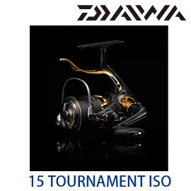 DAIWA 15 TOURNAMENT ISO 2500SH-LBD / 3000SH-LBD / 3000H-LBD  (手剎車捲線器)