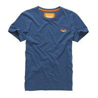 極度乾燥商品推薦到美國百分百【Superdry】極度乾燥 T恤 上衣 T-shirt 短袖 短T 經典 藏藍色 logo 素面 S M L XXL號 F235就在美國百分百推薦極度乾燥商品