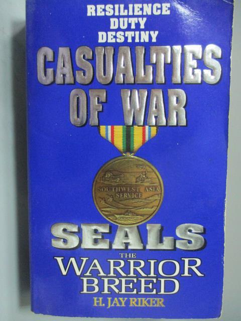 ~書寶 書T8/原文小說_NOH~Seals the Warrior Breed_Casu