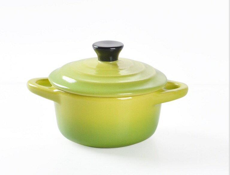 HOMA 彩色廚房 彩色烘培小烤盅 無鉛無毒 來自法國時尚色系 小綠色一個 情人節禮物 女生最愛
