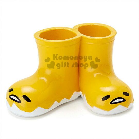 〔小禮堂〕 蛋黃哥 多用途置物架《迷你.黃.鞋型.大臉》輕鬆美化空間