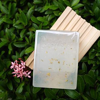【妙回春手工皂坊】金箔 亮顏凍齡皂(約100g /塊)