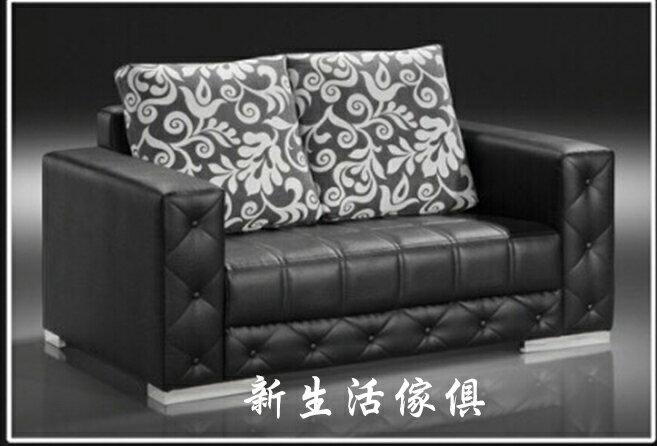 !新生活家具! 皮沙發 黑色 出租套房 組椅 七色可選 雙人沙發 二人沙發 2人座 《奢華帝國》辦公沙發 工廠直營 臺灣製造 非 H&D ikea 宜家