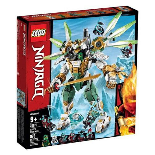 樂高LEGO 70676  NINJAGO 旋風忍者系列 -勞埃德的鈦機械人 - 限時優惠好康折扣