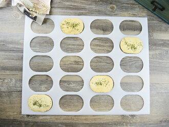 【Betty's焙蒂絲】20孔史瓦濟餅乾模 PM503《烘焙器具(材)》