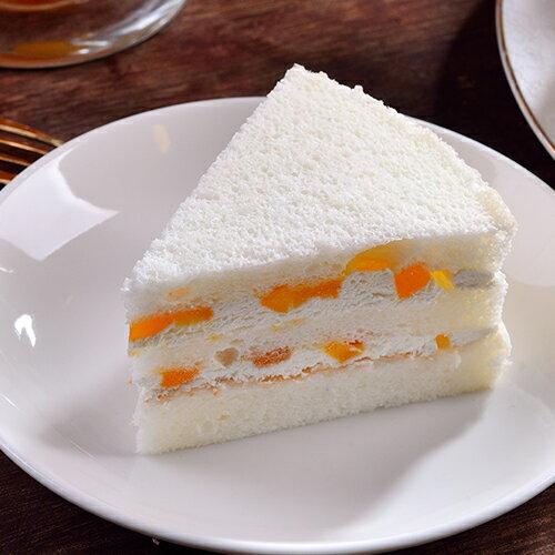 【2018芒果季 】改版升級!芒果天使蛋糕來了!芒果天使蛋糕5吋圓盒1入 1