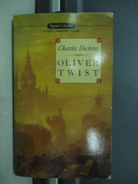 ~書寶 書T3/原文小說_NEA~Oliver twist_Charles dickens