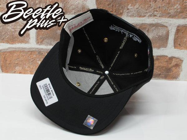 BEETLE MITCHELL&NESS NBA TORONTO 多倫多暴龍 黑白 後扣 棒球帽 SNAPBACK MN-361 2
